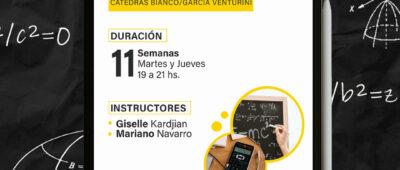 Curso Análisis Matemático II (FCE)