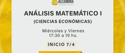 Curso de Análisis Matemático I (FCE)