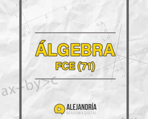 Álgebra I FCE CBC / UBA XXI (71) Grabado